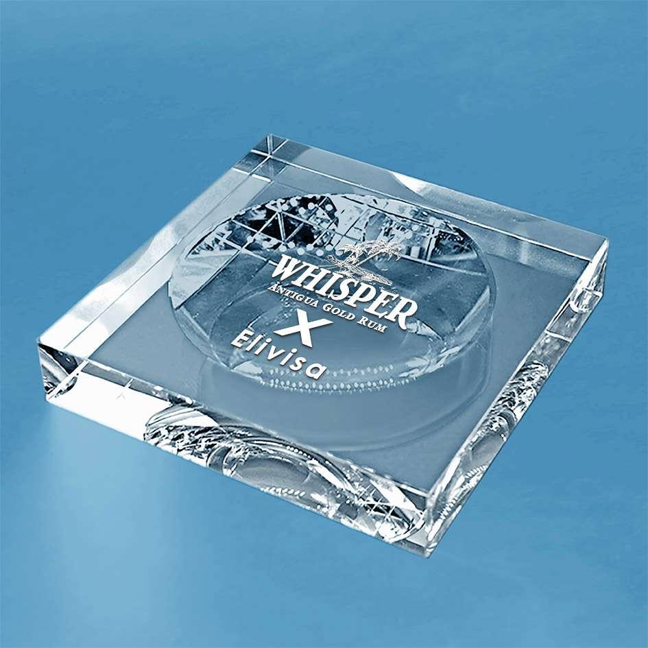 presse-papiers en verre-vide-poche