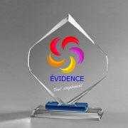 Trophée Célébration-monochrome-impression-couleur